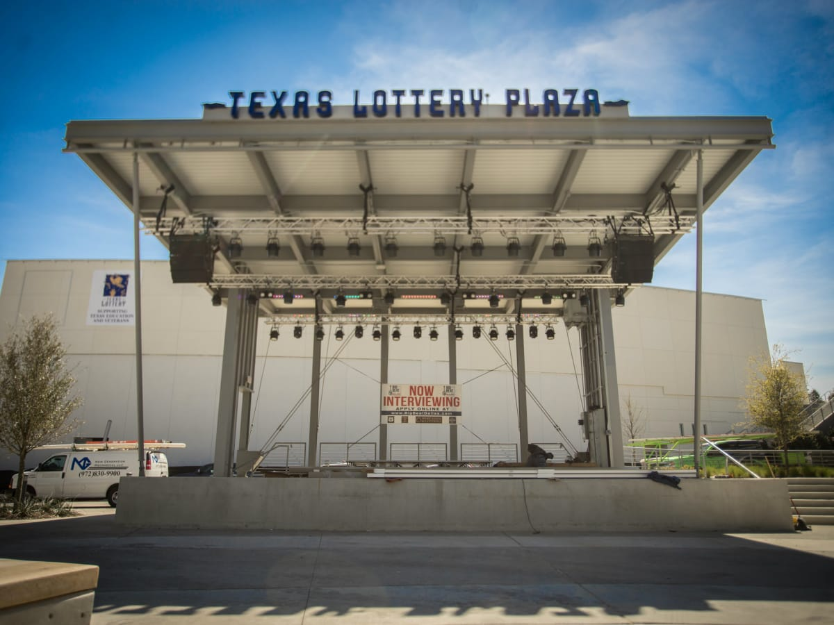 Texas Lottery Plaza