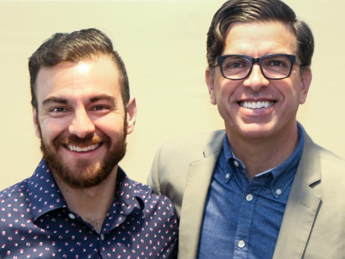 Christopher Alberts, Paul Scott of Aids Services of Austin
