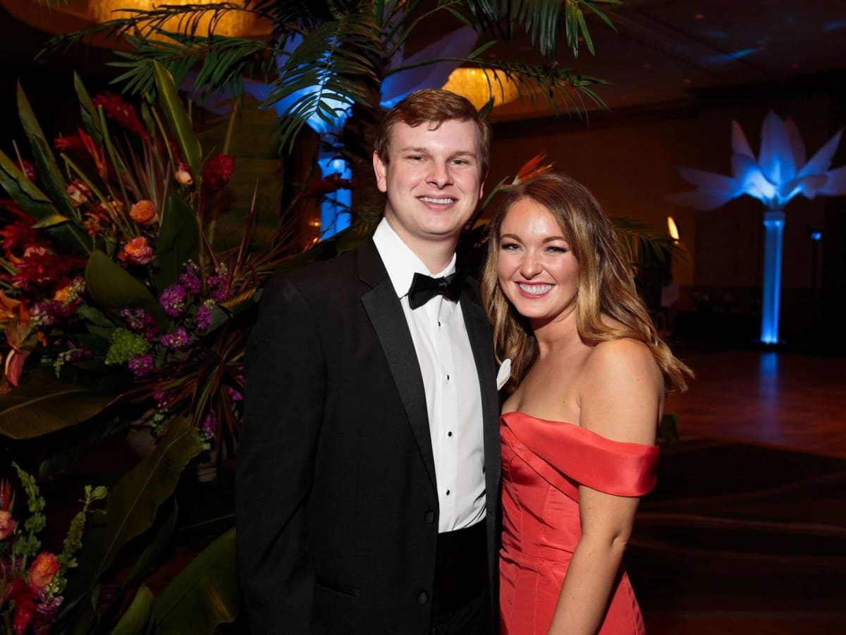 Andrew Taylor and Allison Mynard, Slipper Club Havana Nights 2018