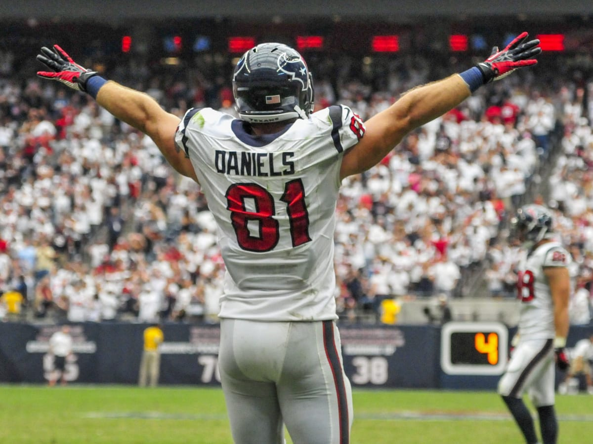 Owen Daniels Texans celebrate