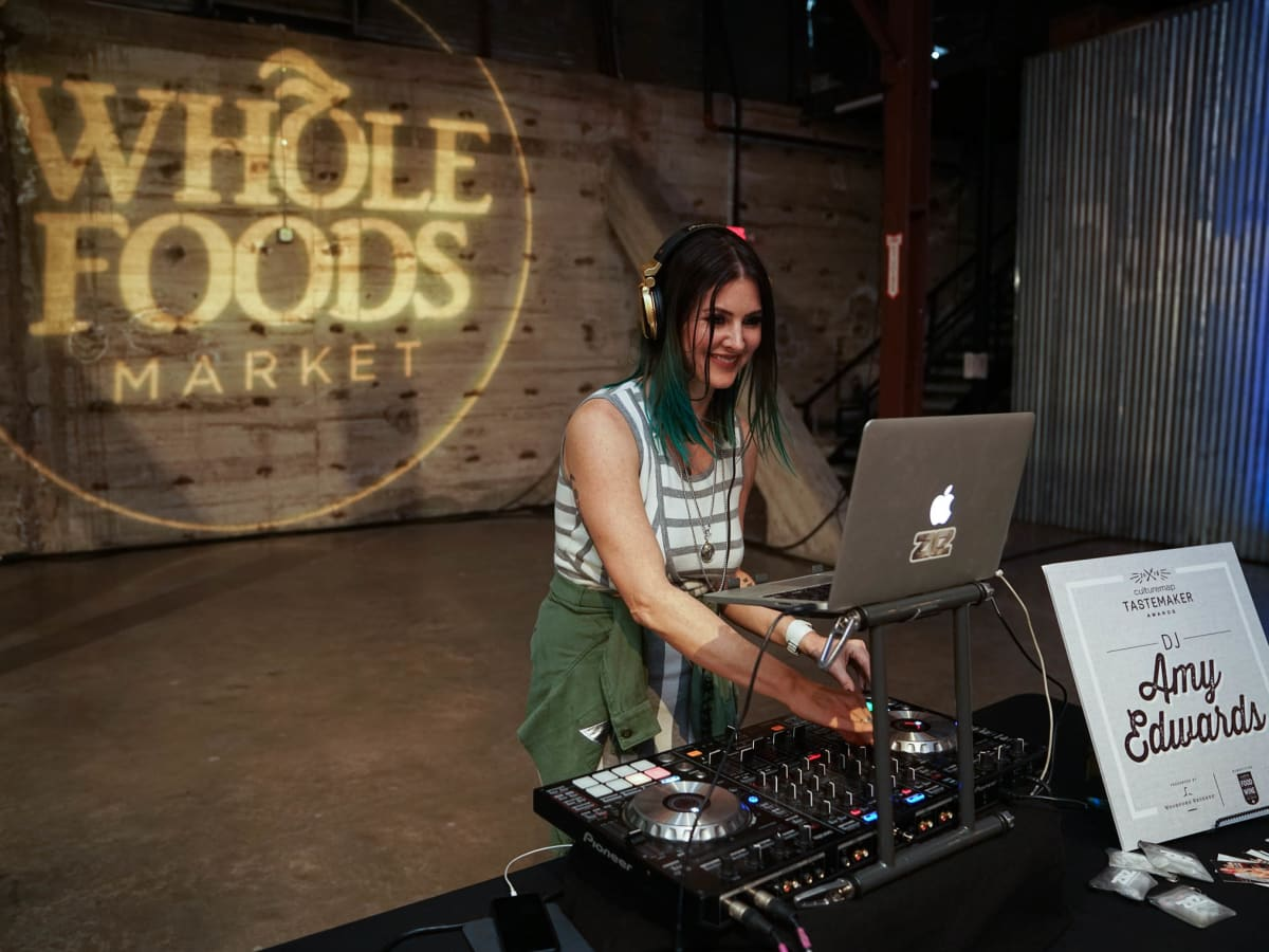 CultureMap Austin 2018 Tastemaker Awards at Fair Market DJ Amy Edwards