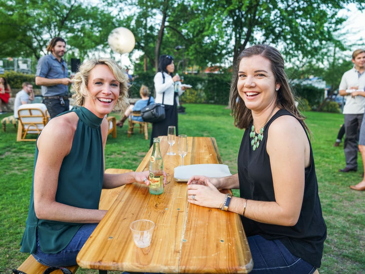 CultureMap Austin 2018 Tastemaker Awards at Fair Market Amy Johnson Macy Jackson