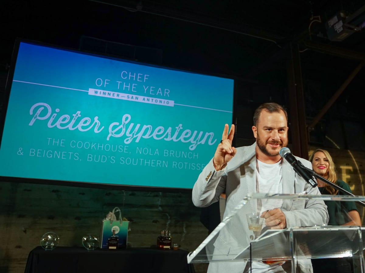 CultureMap Austin 2018 Tastemaker Awards at Fair Market San Antonio Chef of the Year Pieter Sypesteyn