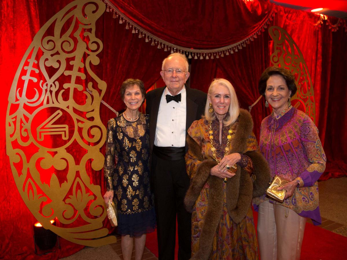Cliburn gala 2018, Gail Rawl, Gary Cole, Marcia French, Ann Hudson