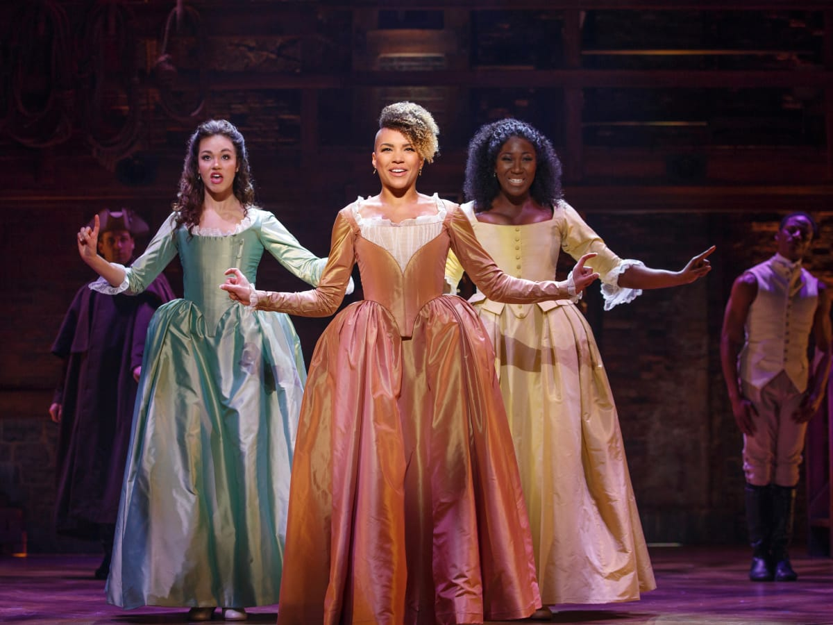 Hamilton Touring Production-Solea Pfeiffer, Emmy Raver-Lampman, Amber Iman