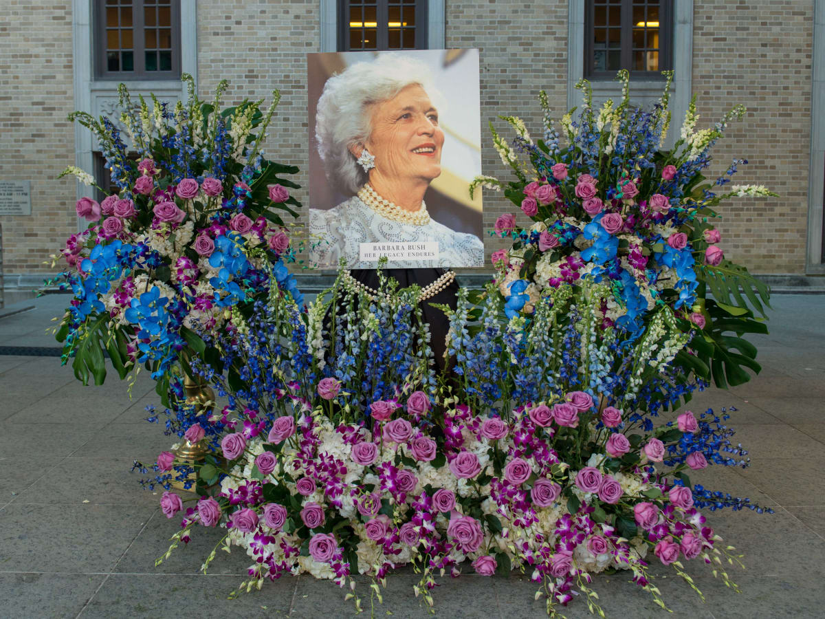 Barbara Bush City Hall memorial