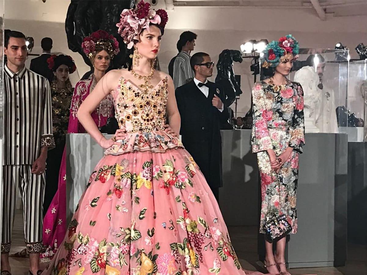 Maya Henry Dolce & Gabbana
