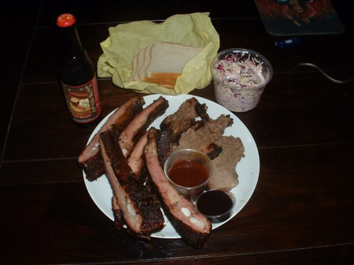 Austin Photo: Places_Food_franklins_bbq_food