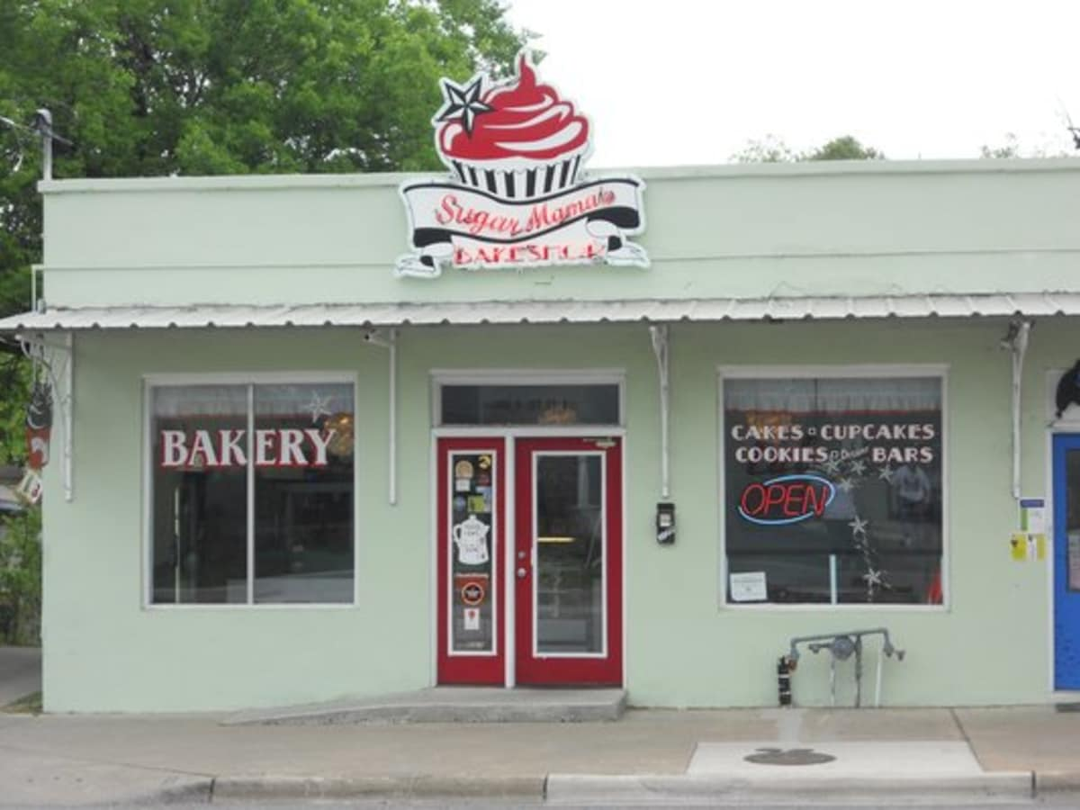 Austin Photo: Places_Food_sugar_mamas_bakeshop_exterior