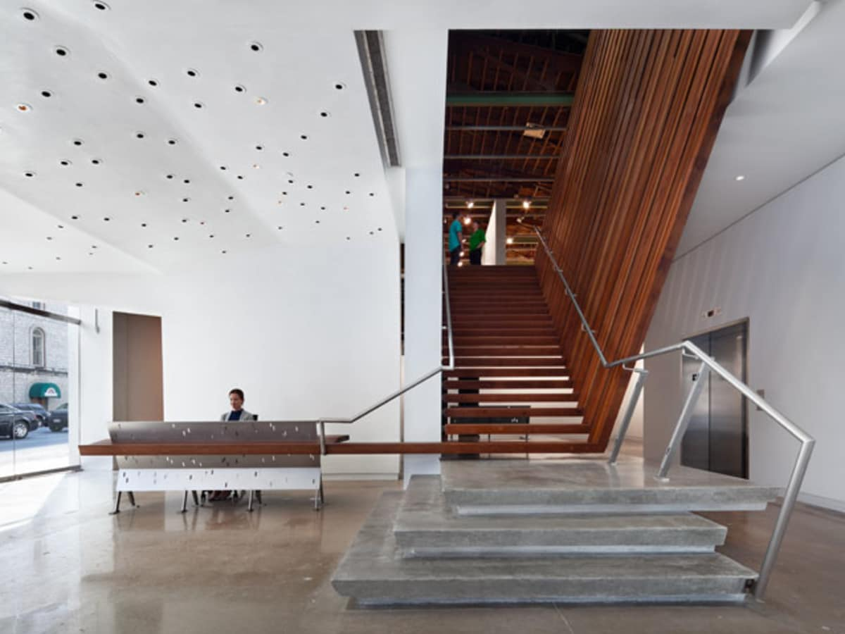 Austin photo: Places_Arts_Arthouse_Jones_Center_Stairwell