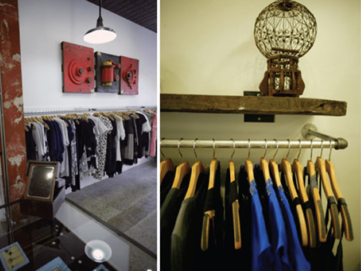 Austin Photo: Places_shopping_kick_pleat_racks