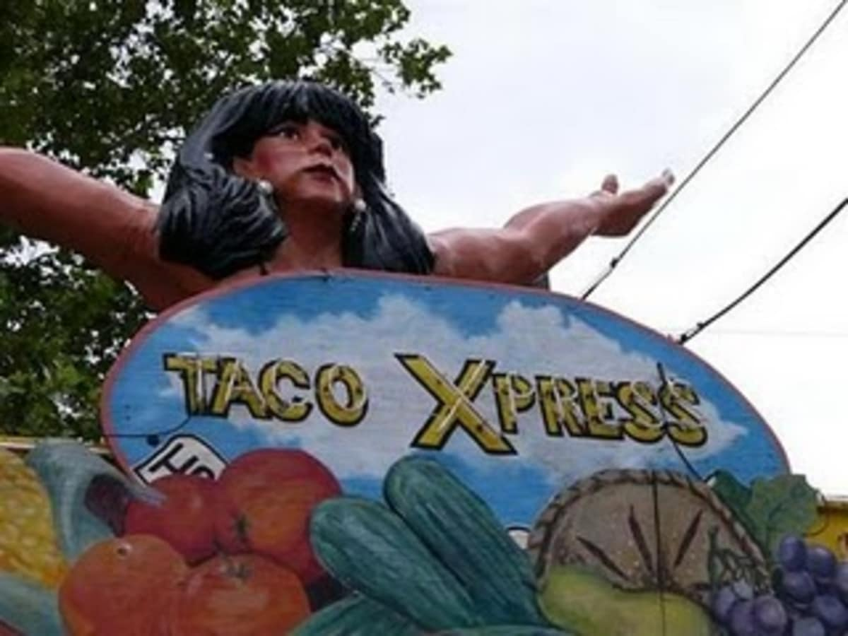 Austin photo: Places_Food_Maria's Taco Xpress_Sign