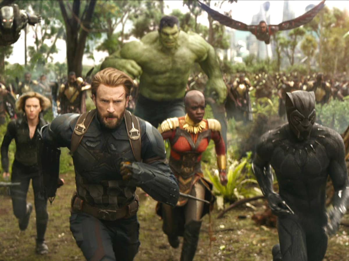 Avengers: Infinity War movie still