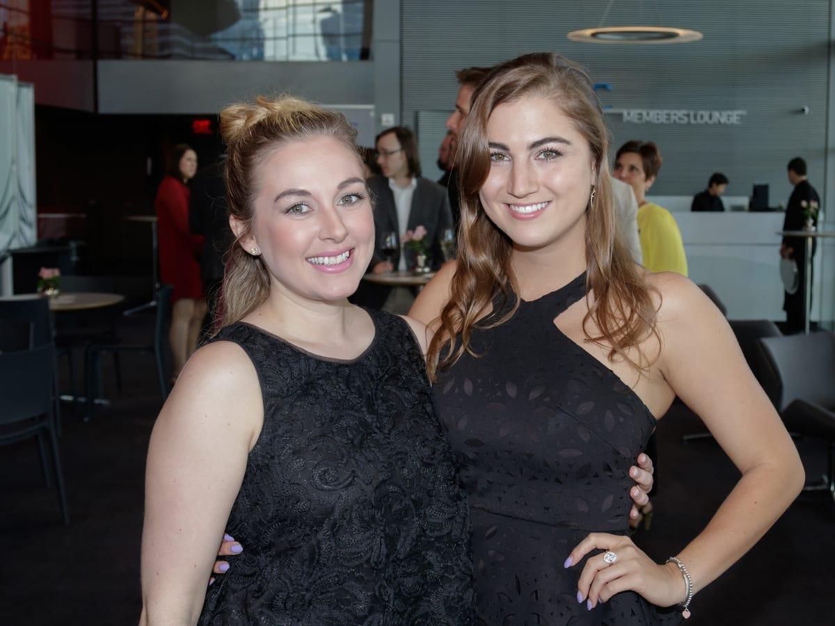 Dallas Opera Springs Gala 2018, Lauren Gergeceff, Camille Cox