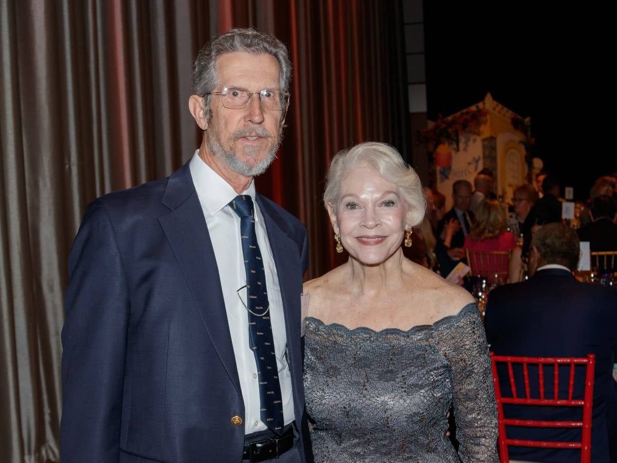 Dallas Opera Springs Gala 2018, Bob Brooks, Patsy Brooks