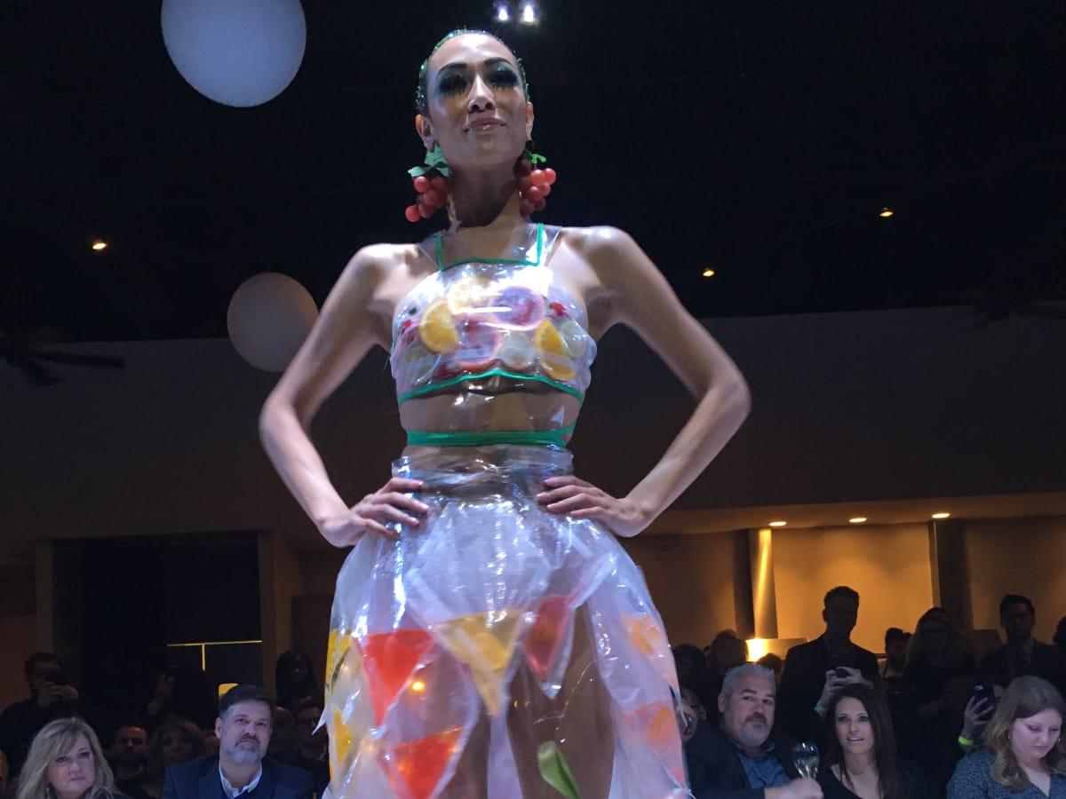 Agua Fresca dress from Nosh Box Eatery
