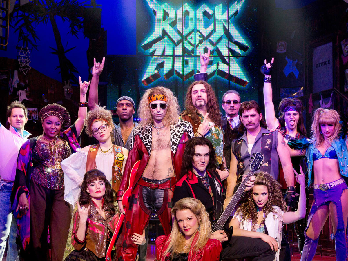 Cast of Rock of Ages 10th Anniversary tour