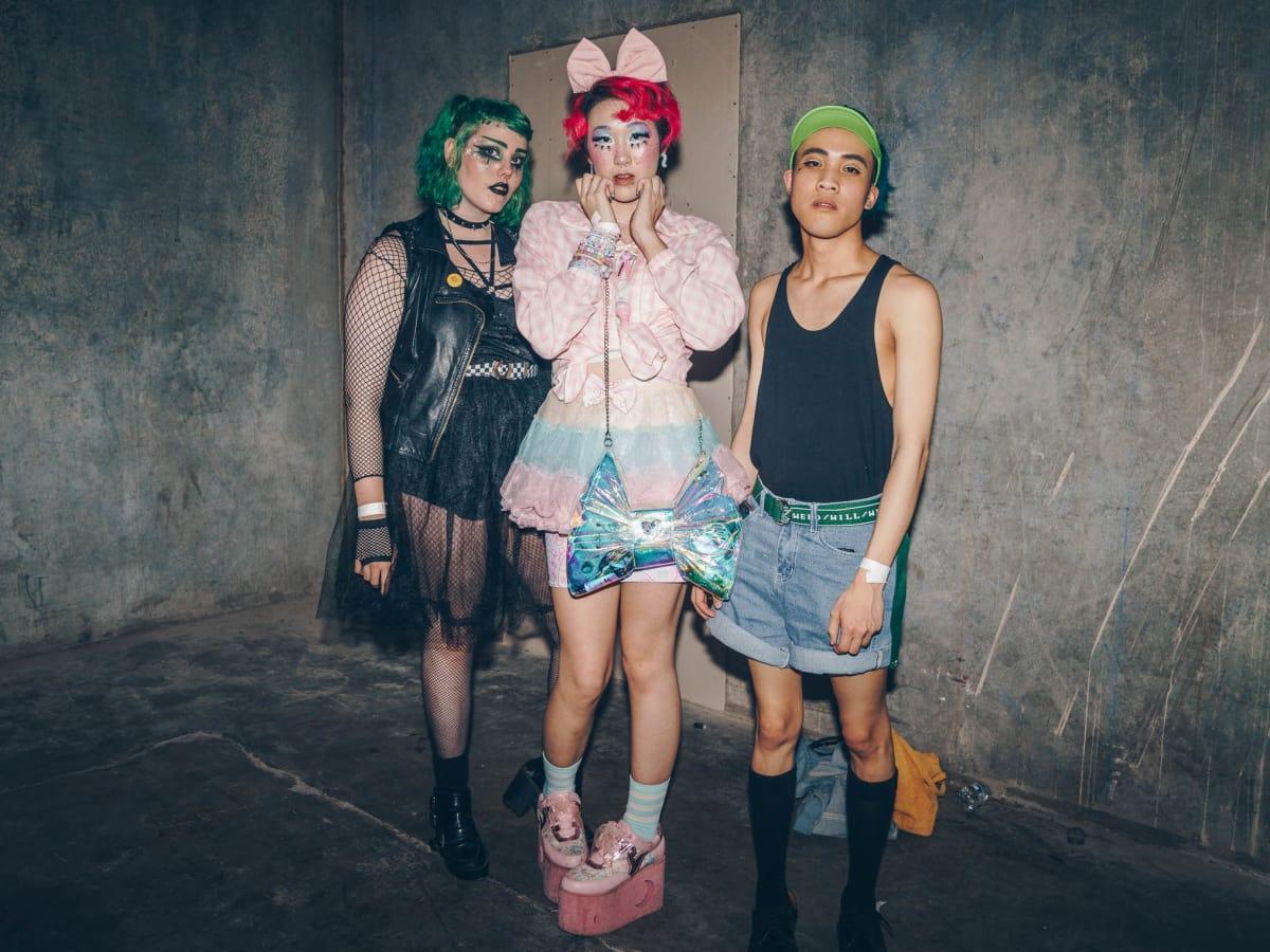Diptych II Fashion Show Liz Berg Van Nong Alan Le