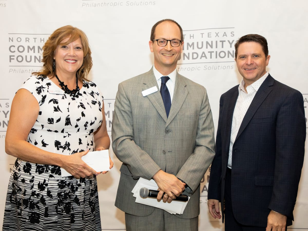 North Texas Community Foundation, Susanne Luebke, Michael Appleman, Todd Landry