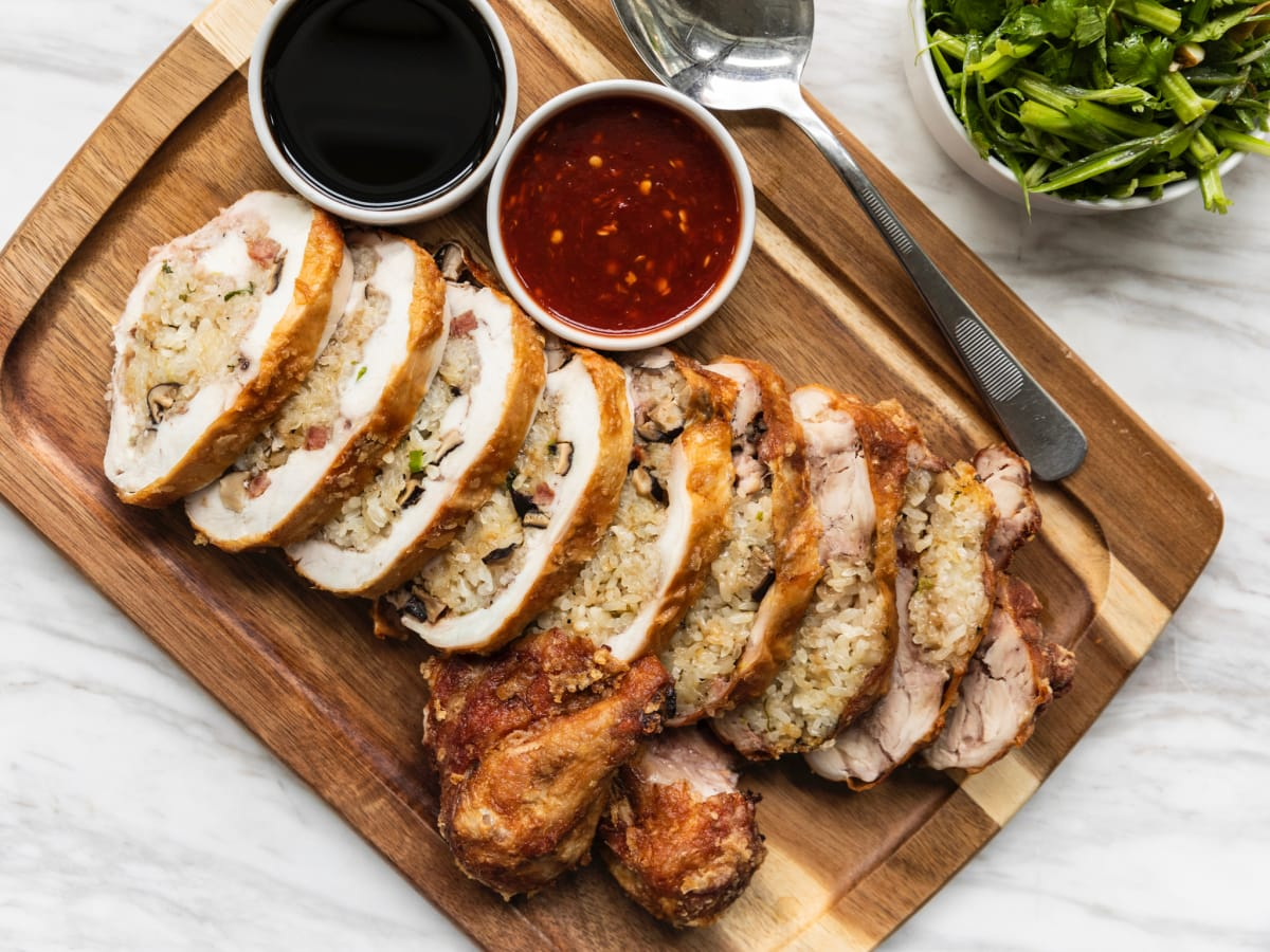 UB Preserv Tejas Heritage crispy chicken