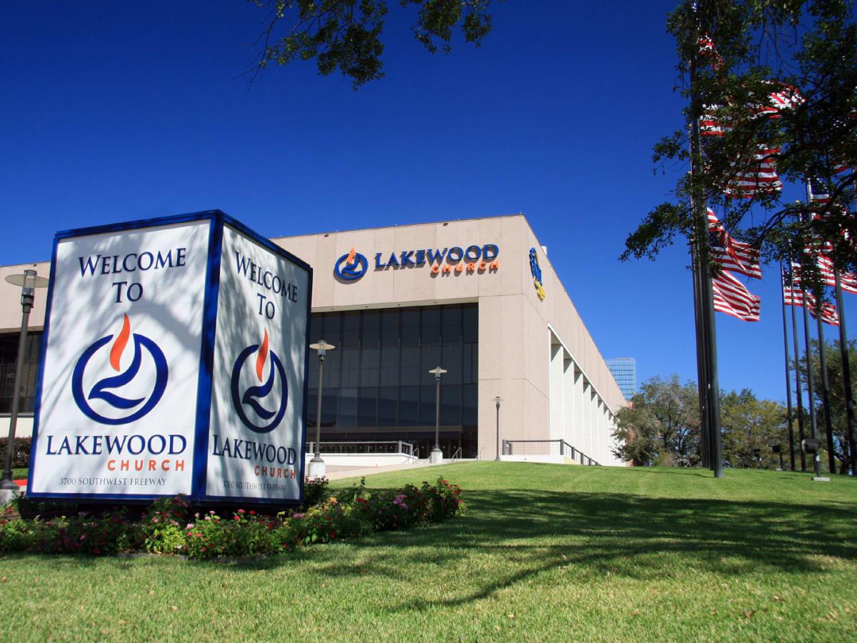 Lakewood Church in Houston