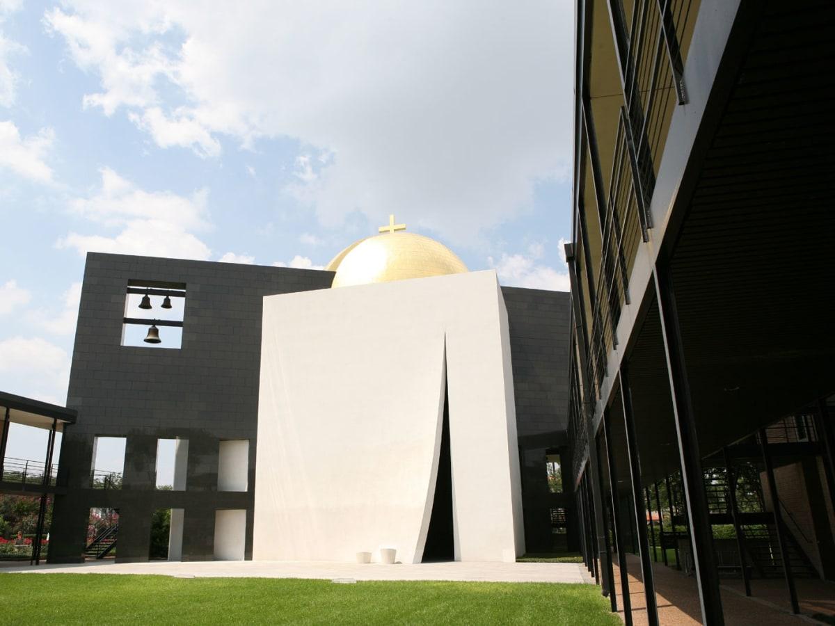 Places-Unique-University of St. Thomas-chapel exterior-1