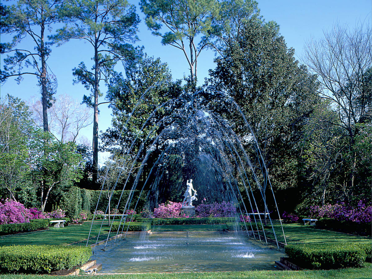 Map-A&E-Bayou Bend-Diana Garden-day shot