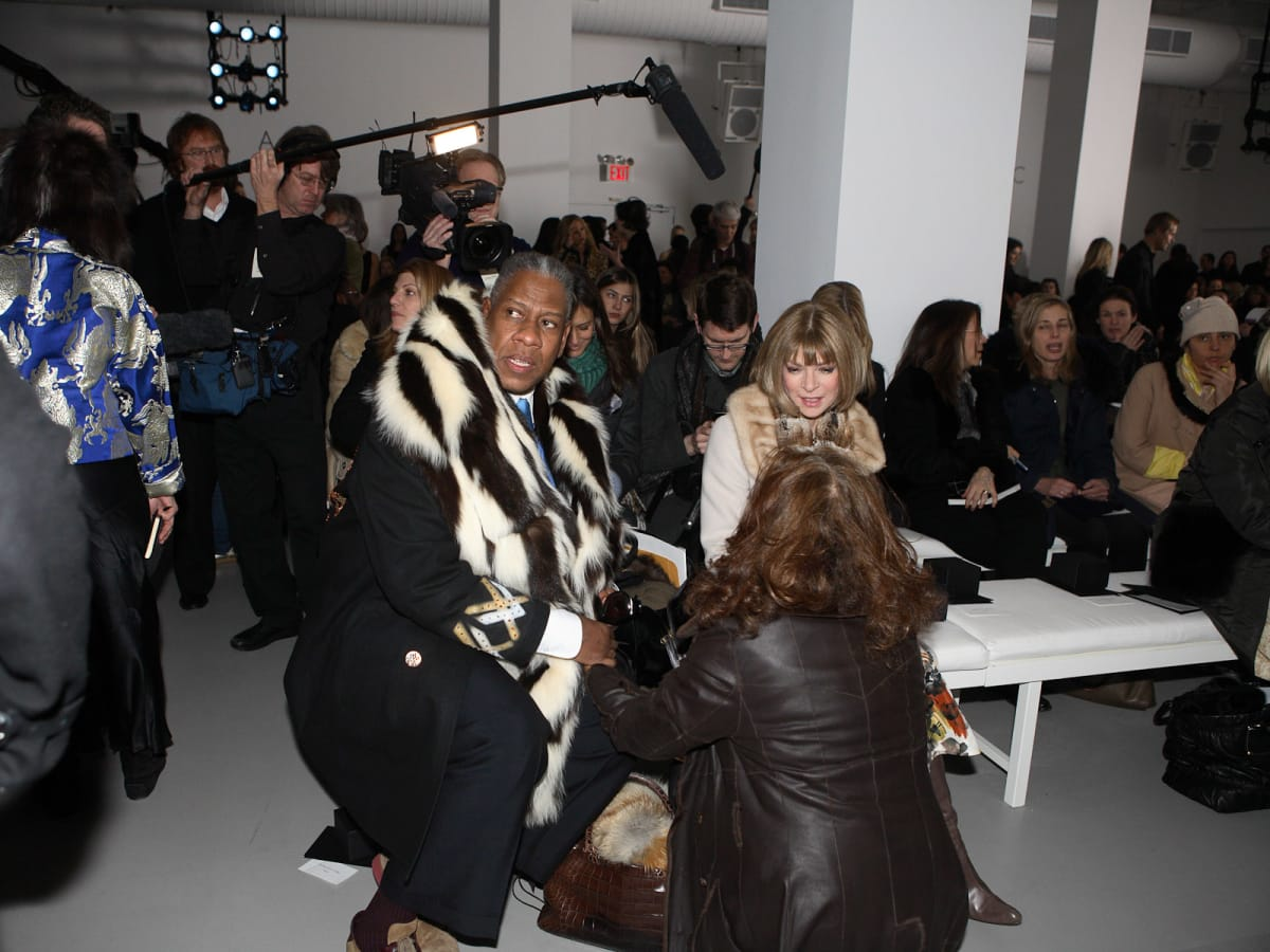 News-The September Issue-Anne Wintour-Andre Leon Talley