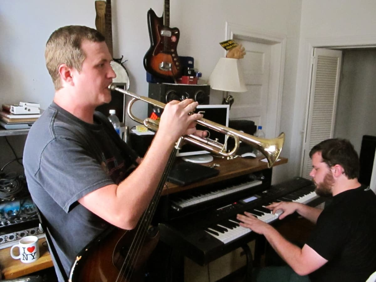 Shane Patrick's lung packed buttery brass