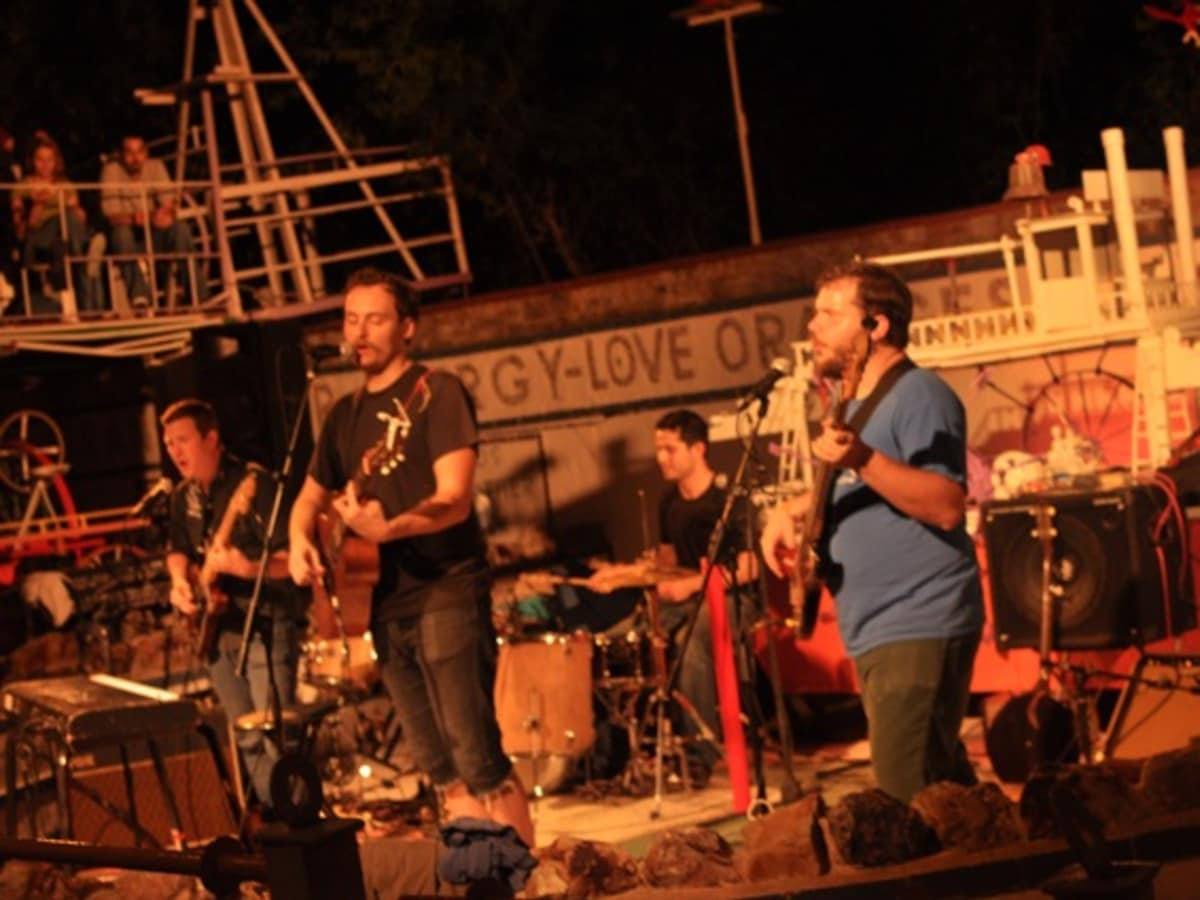 listenlisten playing at the Orange Show in September 2010