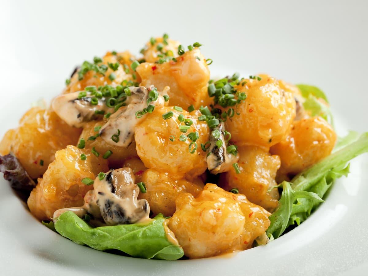 Nobu Rock Shrimp Creamy Spicy