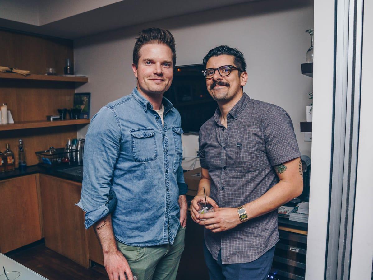 WEST After Hours at DEN Property Group Matt Gilliam Kevin Muñoz