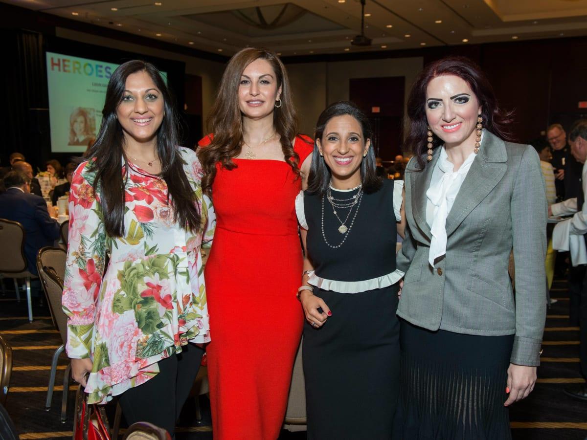 Crime Stoppers Sippi Khurana, Brigitte Kalai, Rania Mankarious, Yasmine Haddad