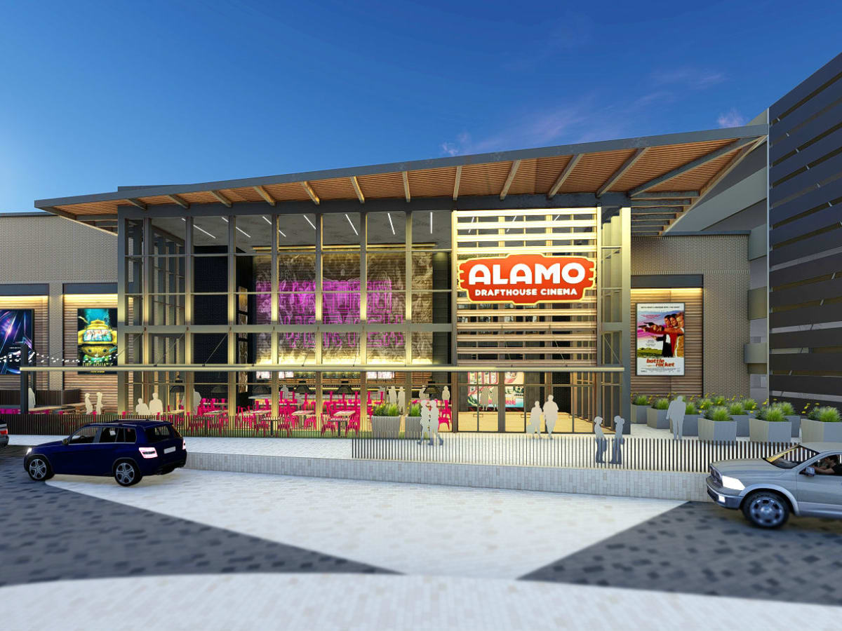 Rendering of Alamo Drafthouse Frisco