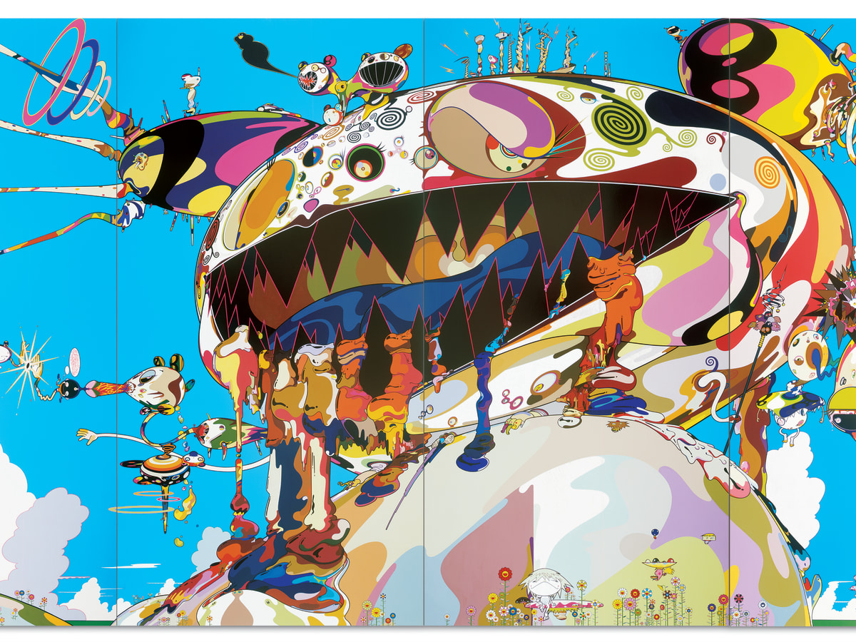 """Tan Tan Bo Puking - a.k.a. Gero Tan"" by Takashi Murakami"