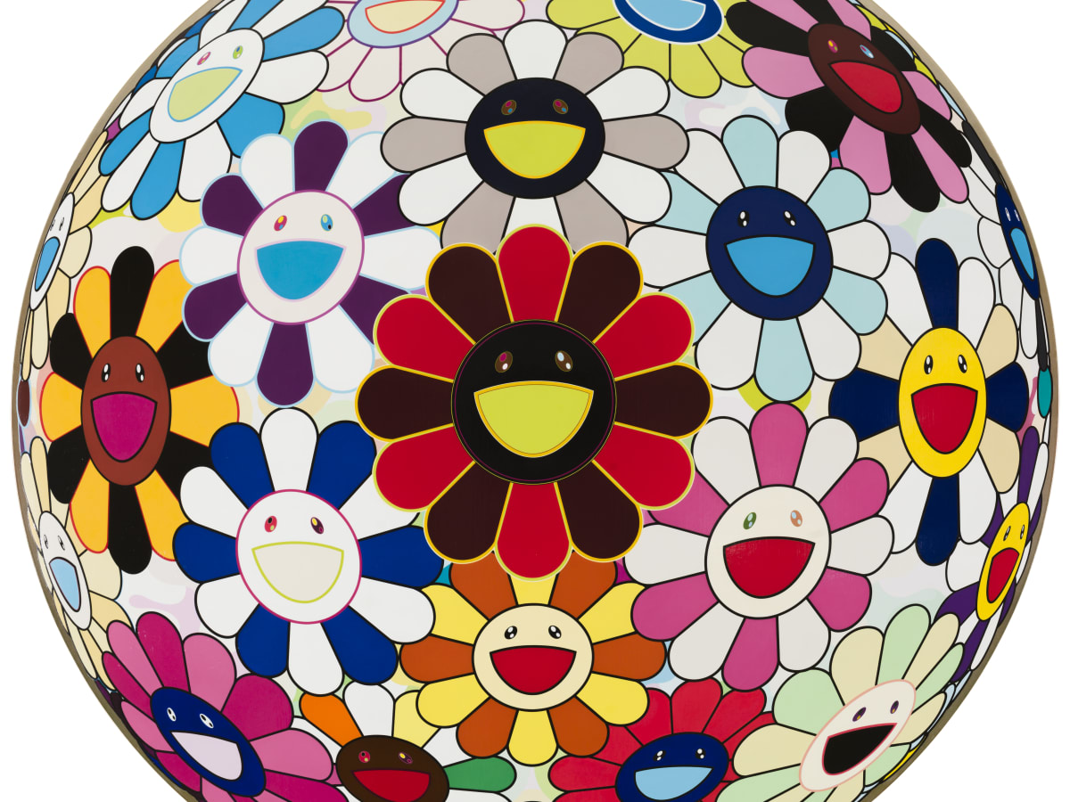 """Flower Ball (Lots of Colors)"" by Takashi Murakami"