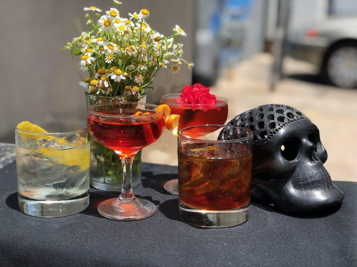 Holy Roller Negroni Week 2018 cocktails