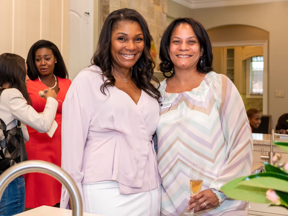 Lisa Montgomery, Ena Williams, Village Giving Circle