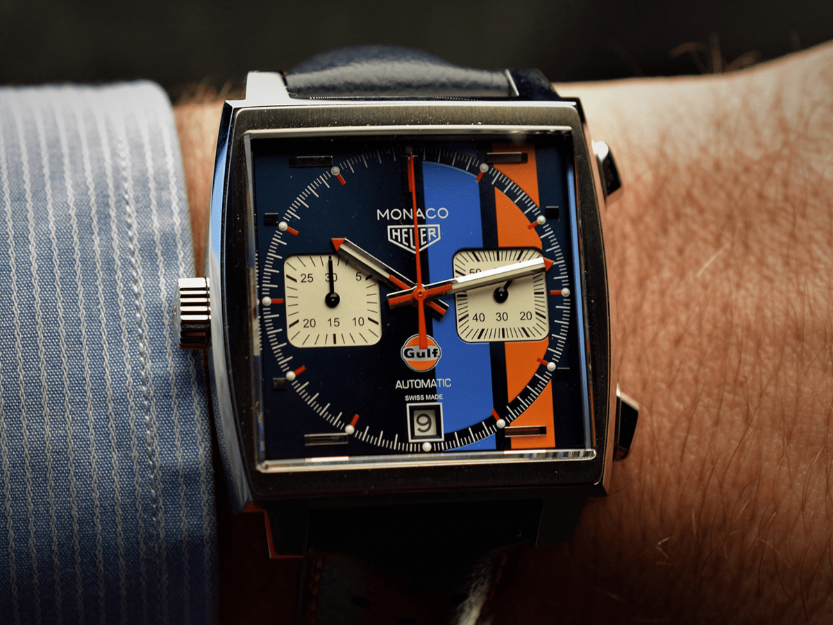 Tag Heuer Monaco Calibre 11 steel 39mm Gulf Special Edition