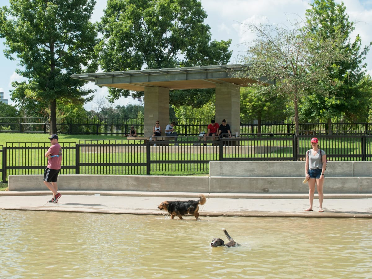 Johnny Steele Dog Park Allen Parkway