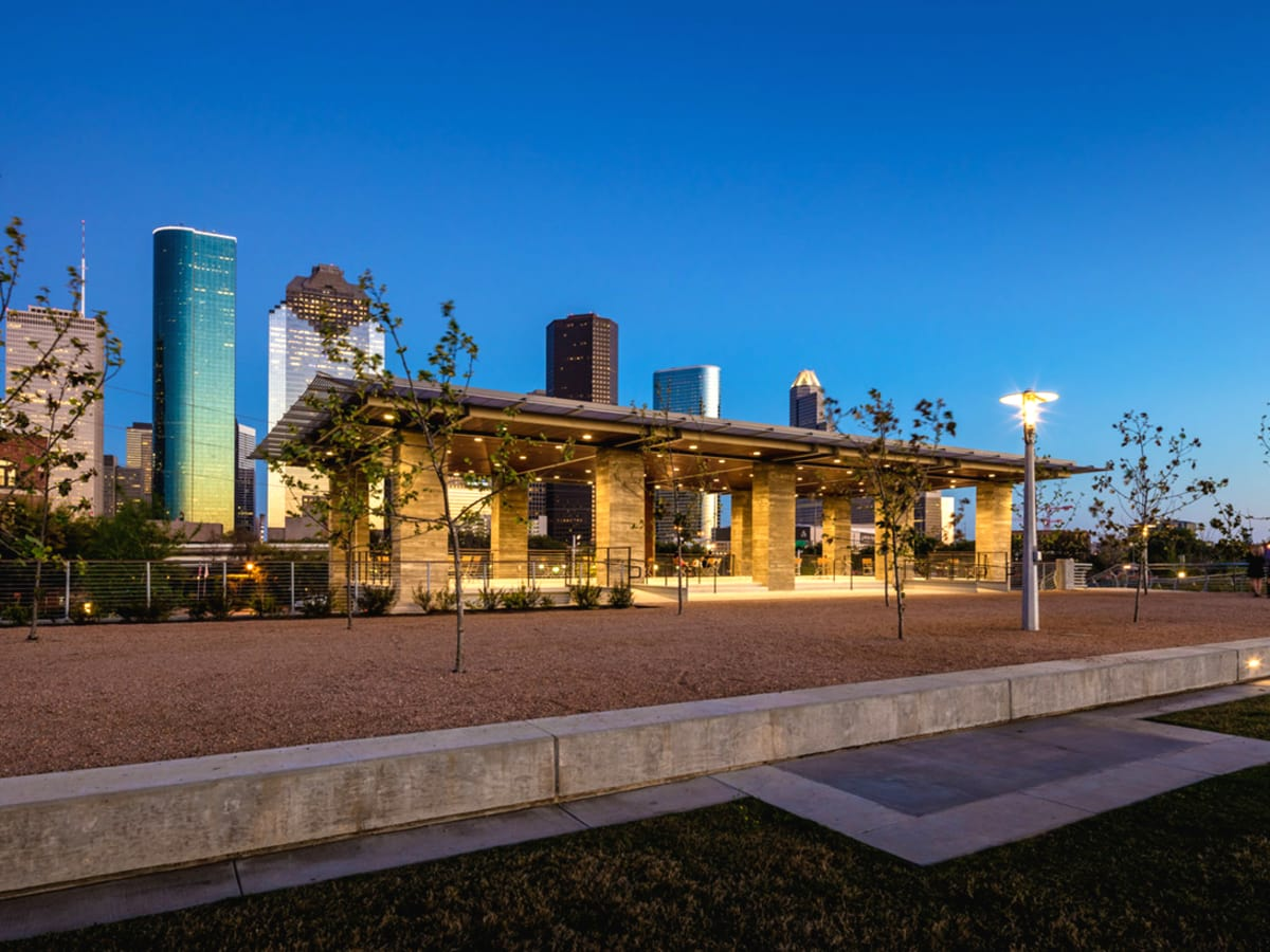 Buffalo Bayou Park Water Works