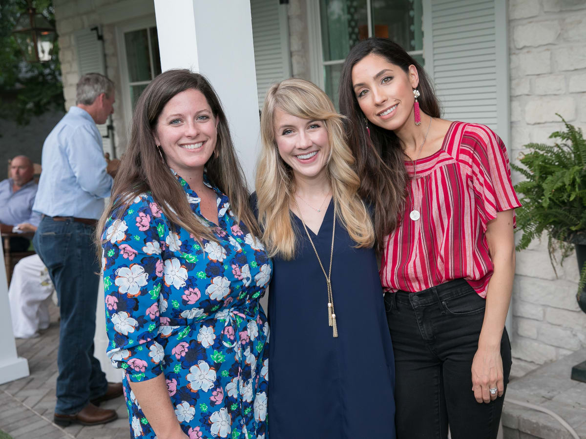 Lydia Rudy, Kitty Threlkeld and Alli Claunch Southern Living Vip