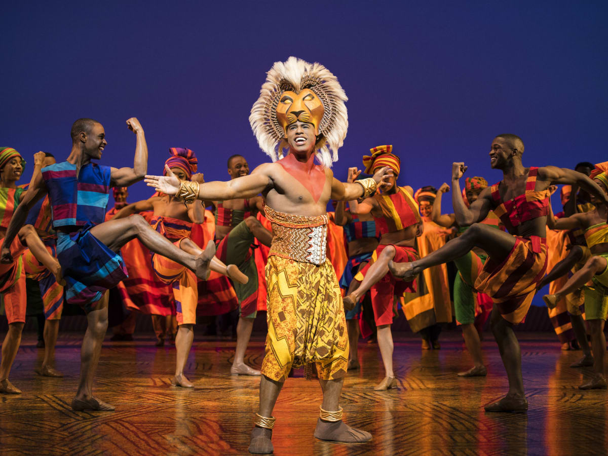 Gerald Ramsey in The Lion King tour