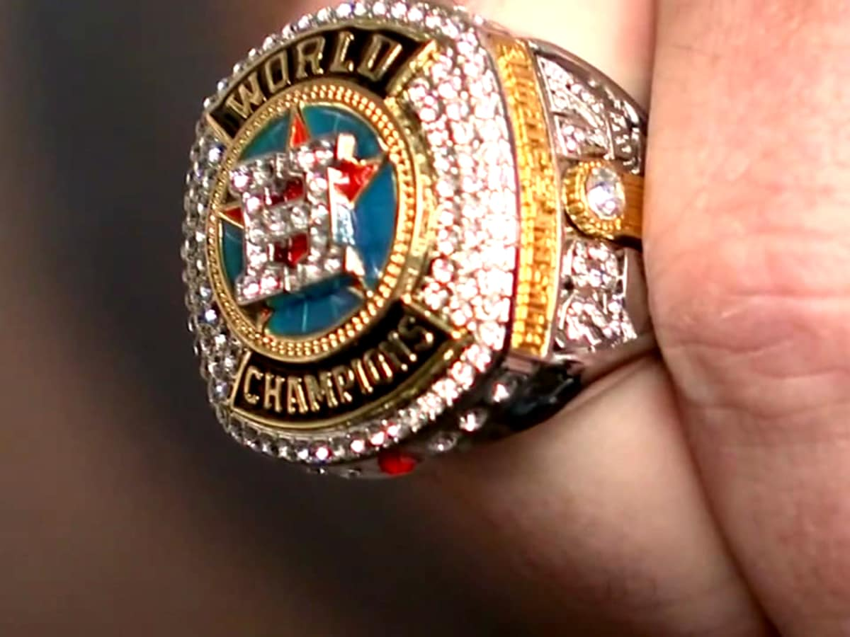 Houston Astros replica ring