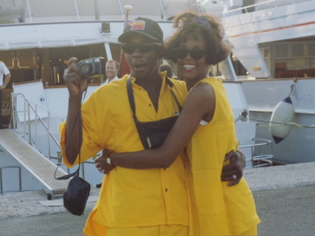 Bobby Brown and Whitney Houston in Whitney