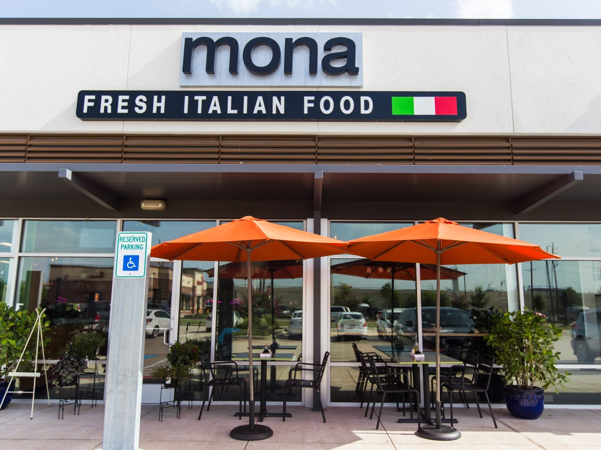 Mona Italian Food exterior