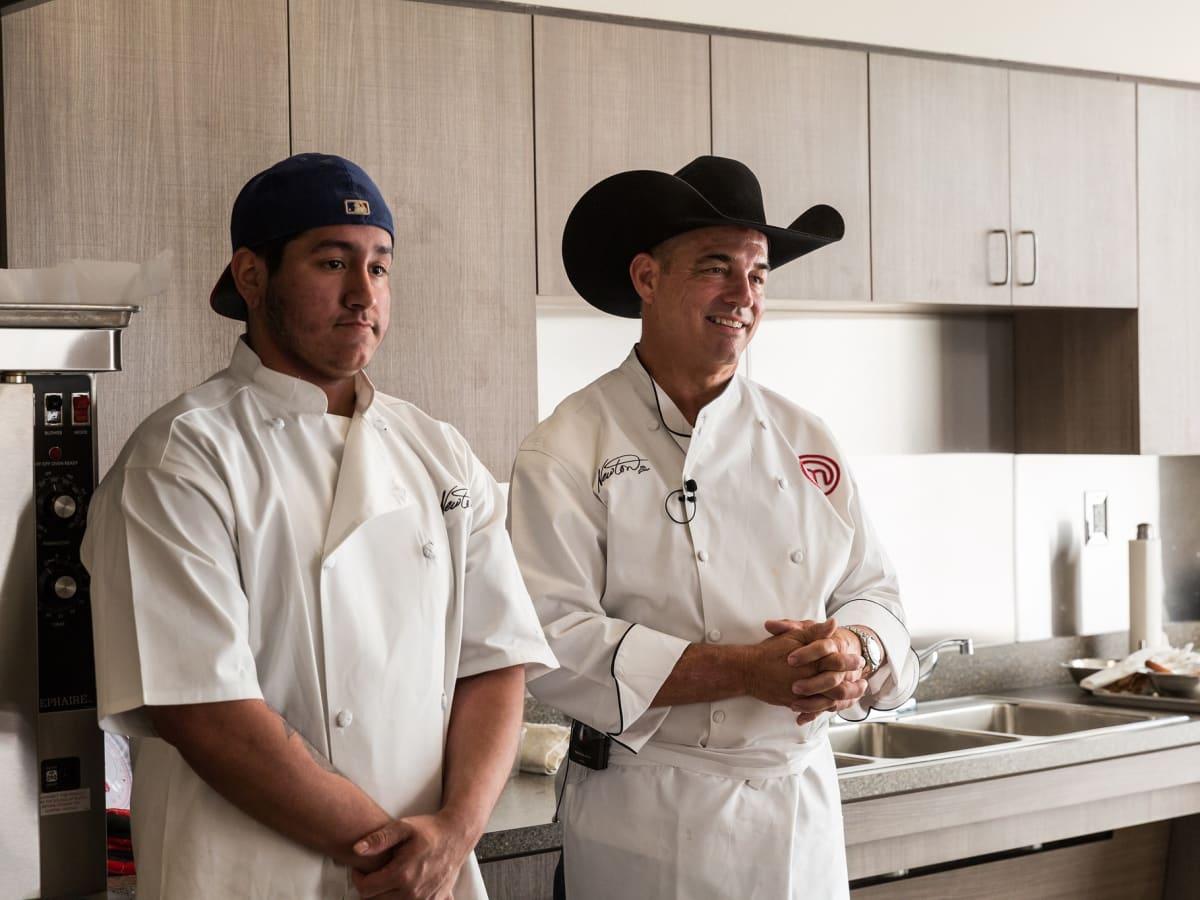 Cowboy Chef Mike Newton, John Aguilar