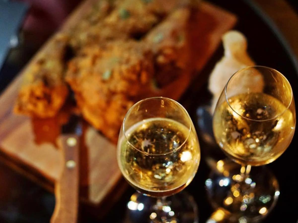 Champagne and Fried Chicken Night Esquire Tavern