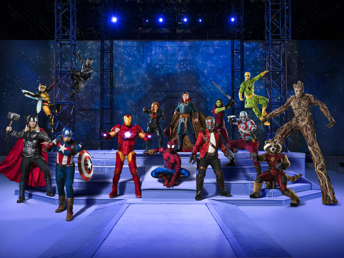 Marvel Universe Live!: Age of Heroes cast