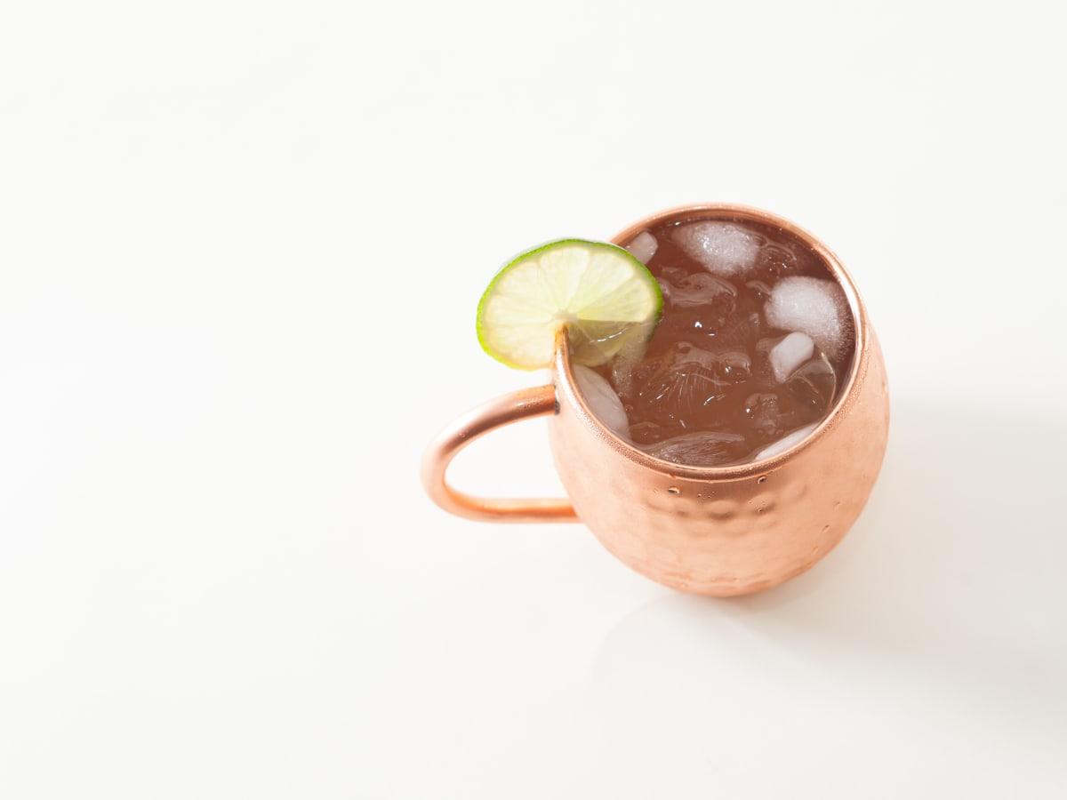 Ghost Mule cocktail